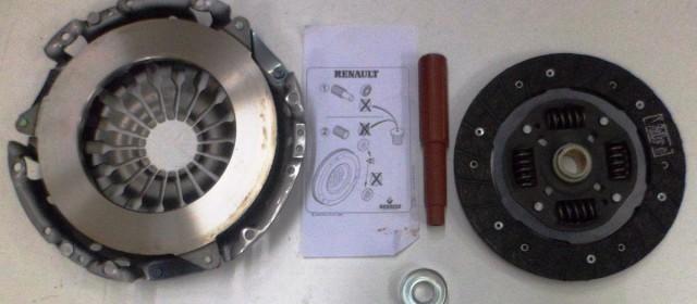 Kit Embrague Duster Megane II Fluence Motor 1.6 16v K4M EMBUTIDO